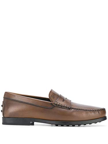 Tod's Luxury Fashion Herren XXM17C00010D9CS801 Braun Leder Mokassins | Frühling Sommer 20