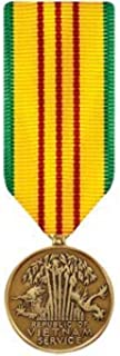 Vietnam Service Medal Miniature Bronze