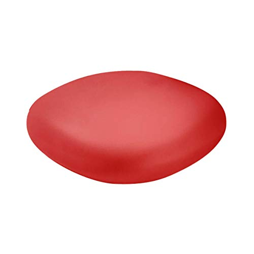 Slide Chubby Pouf bas/Table basse Rouge flamme