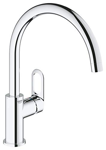 GROHE 31555001 Start Flow OHM sink C-spout EU armatuur, chroom