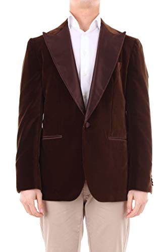 Luxury Fashion | Sartorio Heren SG101K2L200BURGUNDY Bordeaux Katoen Blazers | Seizoen Outlet