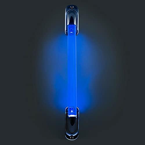 RV 야영자 및 트레일러를 위한 RV 파란 점화한 입장 손잡이. 스트레이트 어시스트 바
