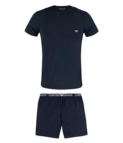 Emporio Armani Pyjama M Marine (00135)