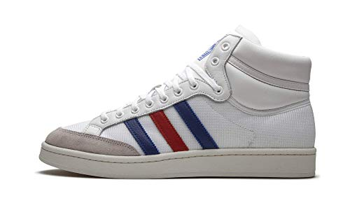 adidas Americana Hi Zapatos Hombre, Blanco (Blanco Nube/Collegiate Royal / Scarlet), 39.5 EU