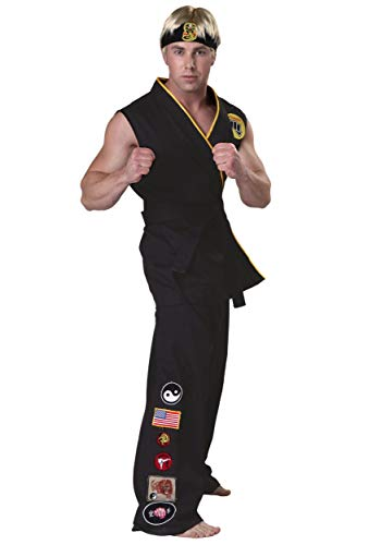 Bayi Co. Authentic Karate Kid Cobra Kai Fancy Dress Costume X-Small