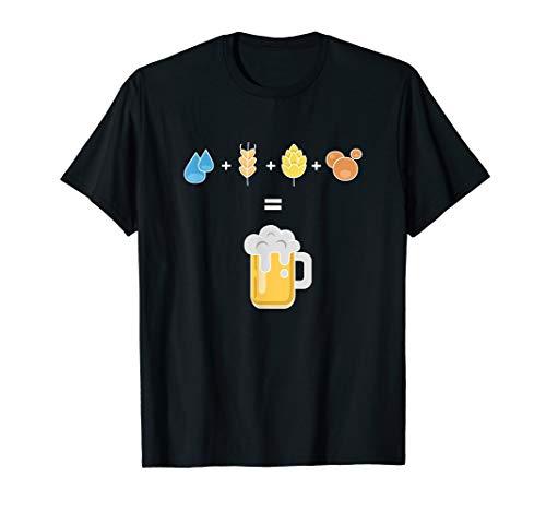 Bier Geschenk für Bierbrauer Hopfen I Craftbier T-Shirt