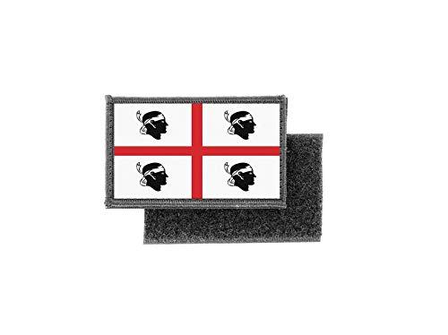 Patch patch opstrijkbaar gedrukt vlag vlag sardinië sardiek