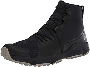 Under Armour Men's Speedfit 2.0 Hiking Boot, Black (003)/Sandy Brown, 14