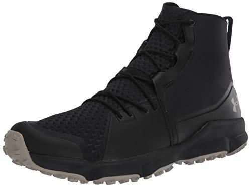 Under Armour Men's Speedfit 2.0 Hiking Boot, Black (003)/Sandy Brown, 10.5