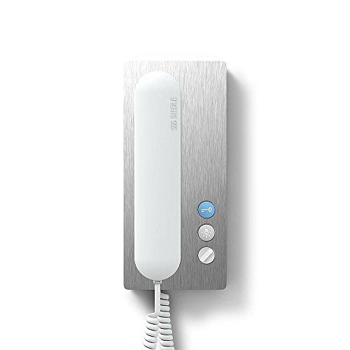 Siedle&Söhne Haustelefon Analog HTA 811-0 E/W Edelstahl/weiß 6+n Innenstation für Türkommunikation 4015739446285