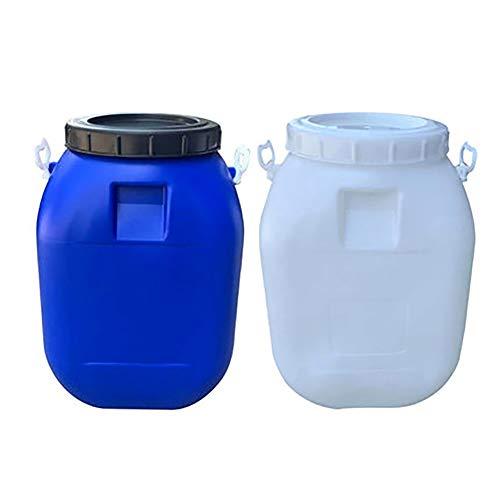 garrafas de plastico Cubo de plástico de gran estantería hogar tanque de almacenamiento de red barril contenedor de almacenamiento de agua portátil tapa del tanque de espesamiento de calidad alimentar