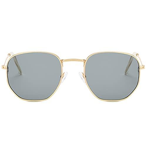 Marco Gafas de Sol Decorativo Unisex Chic Eyeglasses polarizados Aviator Gafas de Sol
