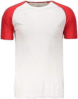Camiseta Penalty Conquista Branca e Vermelha