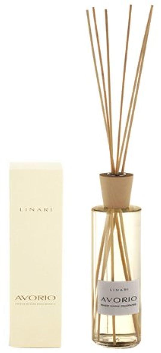 減る突き刺す使い込むLINARI リナーリ ルームディフューザー 500ml AVORIO アボリオ ナチュラルスティック natural stick room diffuser