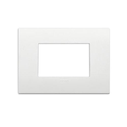Vimar Placca Classic 3 m, Bianco