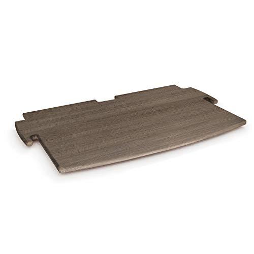 Legaré Furniture Deep Printer Shelf, Grey Driftwood