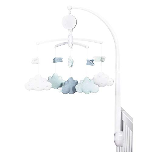 Mobile musical Lily Mint - Sauthon Baby Deco