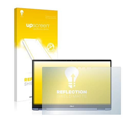 upscreen Entspiegelungs-Schutzfolie kompatibel mit Asus ZenBook Flip 13 UX362FA – Anti-Reflex Bildschirmschutz-Folie Matt