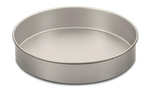 Cuisinart 9-Inch Chef's Classic Nonstick Bakeware Round Cake Pan, Champagne