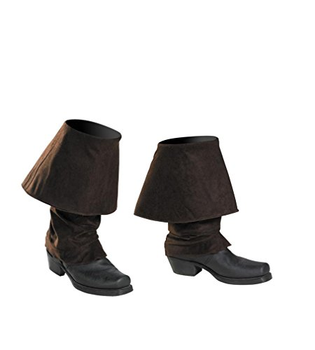 Disney Pirates Of The Caribbean Pirates Boot Covers Costume Accessory, One Size Child