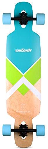 Unbekannt WEFUNK Crossed TWINTIP Longboard 2016 Turquoise/Green