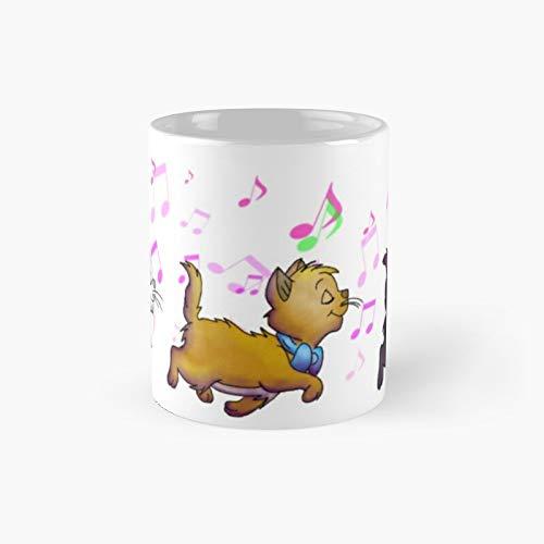 Kitten Trio Classic Mug Birth-day Holi-day Gift Drink Home Kitchen