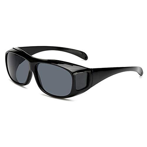 Yi-xir diseño Clasico 2 unids/Lote Nuevo MIPIA Espejo Gafas de Sol Fuera de Montar Glasses Visión Nocturna Espejo de la Visión Noche TV Eyewear a Prueba de Viento TV Moda