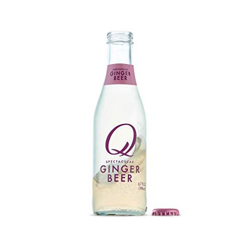 Q Mixers Ginger Beer, Premium Cocktail Mixer, 6.7 oz (24 Bottles)