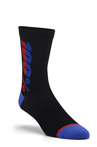 Desconocido Rythym Merino Wool Performance Socks, Schwarz, SM/MD