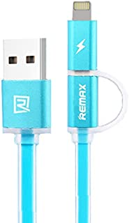 luminous Cable for Apple and Android Devices Blue by Remax