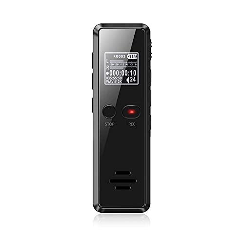 Z-Color Grabadora de Voz Digital, portátil USB Grabadora de Voz Recargable, grabadora de Audio dictáfono con Mini USB Puerto, Audio Digital y MP3 Jugador para reuniones, entrevistas y conferencias.