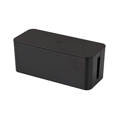 MAOXI Kabelaufbewahrungsbox Steckdose Kabel Aufgeräumte Aufbewahrungsbox