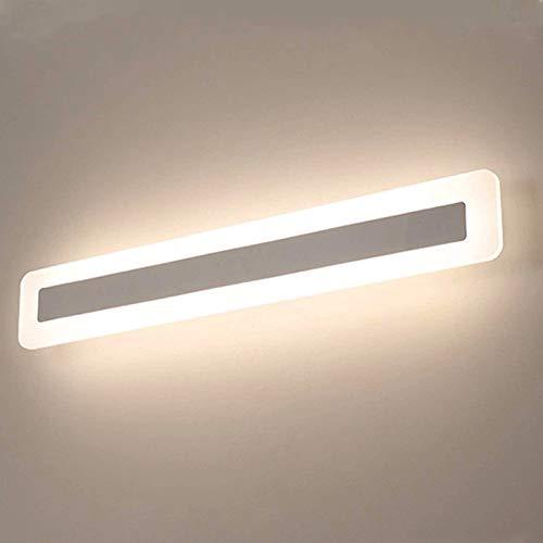 Yafido Aplique Espejo Baño Interior LED 14W Blanco Neutro 4000K 900LM 40CM Lámpara de Pared para Maquillaje