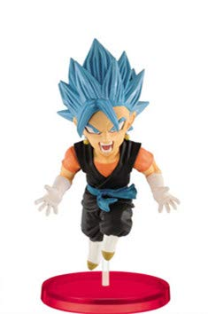 DB Dragon Ball Super Heroes World collectable Figura Vol.4 WCF Cumber Burdock Vegetto Trunks Goku Figure (Vegetto)