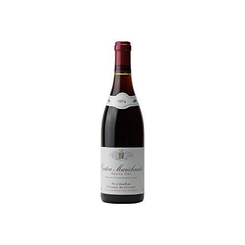 Corton Maréchaudes Rotwein 1974 - Pierre Bitouzet - g.U. - Burgund Frankreich - Rebsorte Pinot Noir - 75cl