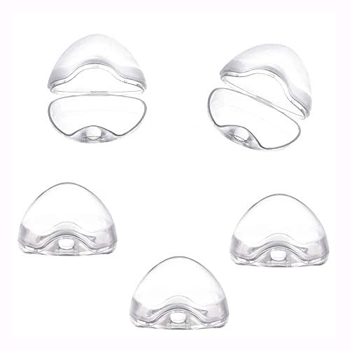 5Pcs Schnullerbox für Baby,Transparent Schnullerbox,Schnullerbox Tragbar,Schnuller Vorratsbehälter,Schnuller Box Staubdicht,Transparent Staubdicht Box