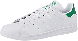 adidas Originals Stan Smith Mens Lace Up Shoes Trainers White/Green 9.5 US