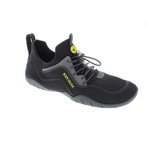 Body Glove Men's Water Shoe, Black/Yellow 11 medium US