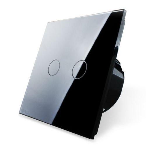 LIVOLO Wechselschalter Kreuzschalter Glas Touchscreen VL-C702S-12 2-Weg