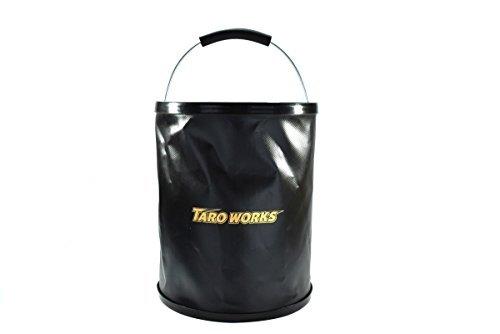 [TARO WORKS] 洗車 折りたたみ バケツ