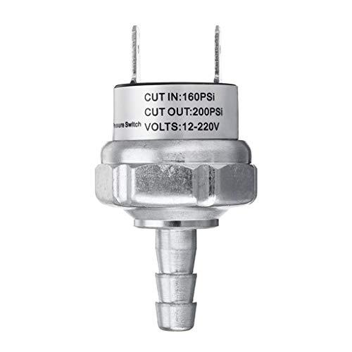 MagiDeal Compresor de Aire D55168 Interruptor de Presión para Corte de 160 PSI