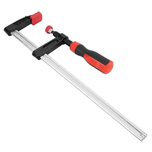 KSTE Kit Herramientas Carpinteria, 4pcs Heavy Duty F Abrazaderas carpintería Bar Clips Quick Slide DIY Kit de Herramientas de Mano 50 300mm