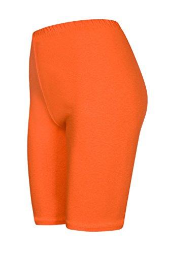 DeDavide 2 Stück Kinder Feldhockey Shorts, Orange, 116