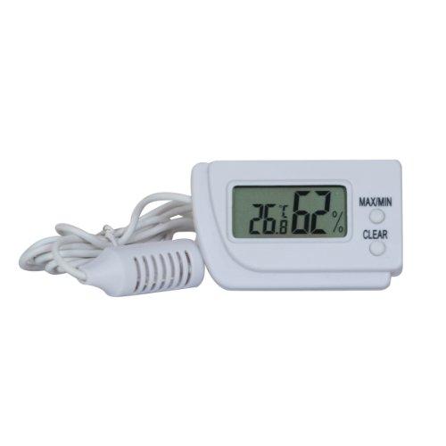 Smarstar Metro Termometro digitale LCD di temperatura con sonda 1 m di filo 03