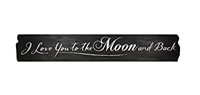 """Young's Wood Love You Decorative Sign, 40"""" x 6.5"""" x 0.5"""""""