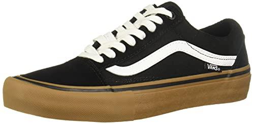Vans - Scarpe da skateboard Old Skool Pro, colore: blu/stv, blu/bianco, Uomo, Old Skool Pro, navy/stv navy/white, 43