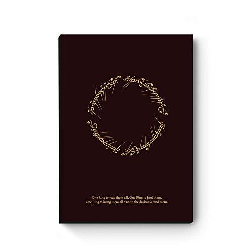Quadro decorativo Senhor dos anéis Anel de Sauron