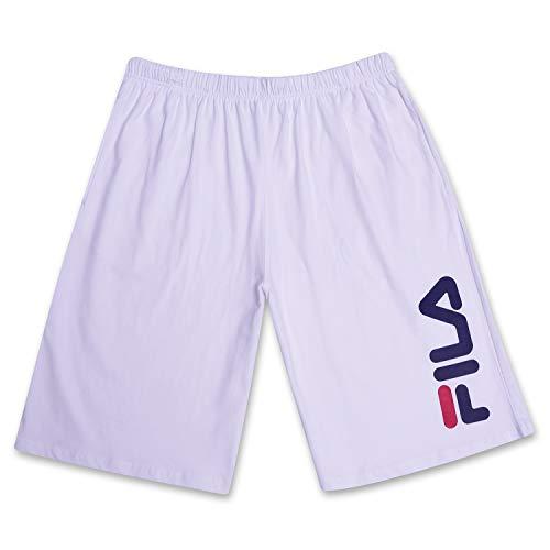 Fila Sporthose mit klassischem Beinlogo für Herren 3X Plus Weiß