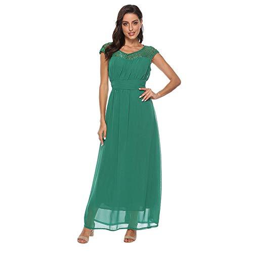 Vestidos Vestido De Gasa De Talla Grande para Mujer Vestido