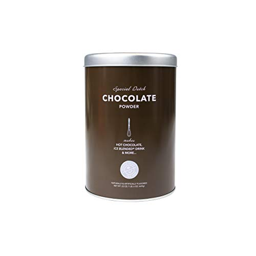 The Coffee Bean & Tea Leaf Dutch Chocolate Powder for Coffee, Lattes, Espresso, Tea, Smoothies, Frappe Mix, 22 Ounce Container